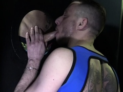 Sltu fucked barzbck in glory holes by Kevin david