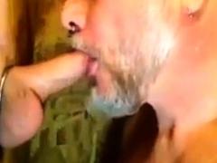 Gloryhole kissing