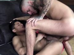 sexy latino twink used by arab big cock
