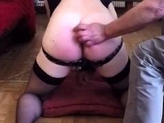 Old men spank me