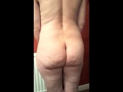 57 yr old girl stripping off