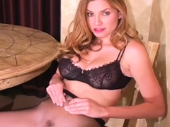 Perfection is using a dildo to make herself cum