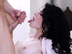 18 Videoz - Black Angel - First Date Teen Tinder Fuck