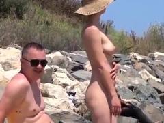 Nude Beach - Romanian Show Off