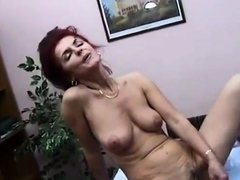 mature amateurs have lunch then fuck their toys