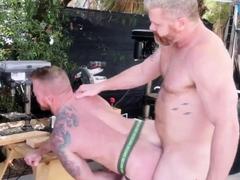 NASTYDADDY Huge Daddy Cain Marko Barebacks Inked Jack Vidra