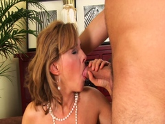 Sexy Blonde Mom Sucks And Fucks Her Stepson