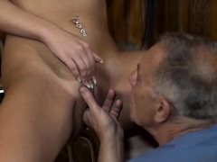 Teen sucking old man for cum and cock young girl xxx Can