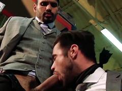 MENATPLAY Jean Franko Ass Fucks Hunky Gay Mike De Marko