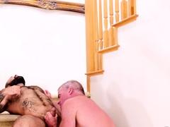 BEARFILMS Hairy Atlas Grant Raw Breeds Daddy Dale Savage