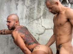 RAWHOLE Hung Latino Gay Jottae Raw Breeds Patrick Garcia