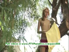 tina-fun-blonde-woman-toying-pussy-outdoor-using-a-vibrator