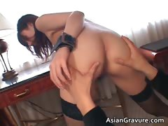 Hot Cute Sexy Body Asian Babe Gets Tied Part5