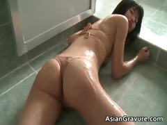 Cute Asian With Great Body Taking A Bath Part6