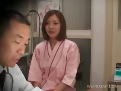 Shy Asian Redhead Gets Boobs Checked At The Doctor