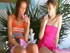two-russian-lesbian-schoolmates-dildoing